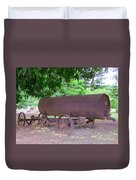 Antique Water Tank - No 2 Duvet Cover