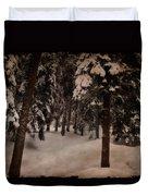 Antique Woodscape Duvet Cover