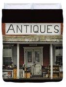 Antiques Duvet Cover