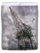 Antwerp Crane Duvet Cover