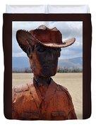 Anza Borrego Cowboy Duvet Cover