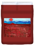 Anza-borrego Vista Original Painting Duvet Cover