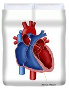 Aortic Valve Duvet Cover