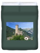Aosta Valley - Chatelard Ruins Duvet Cover