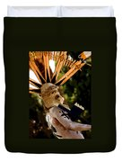 Apache Dancer Duvet Cover