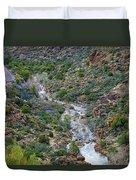 Apache Trail River View Duvet Cover