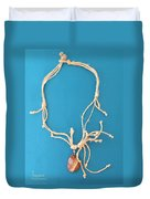 Aphrodite Pandemos Necklace Duvet Cover