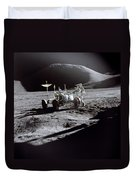 Apollo 15 Lunar Rover Duvet Cover