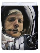 Apollo- For Mankind Duvet Cover