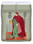 Apothecary, 15th Century Duvet Cover