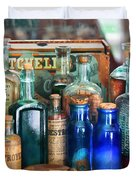 Apothecary - Remedies For The Fits Duvet Cover