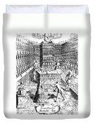 Apothecary Shop, 1688 Duvet Cover
