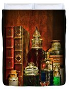 Apothecary - Vintage Jars And Potions Duvet Cover