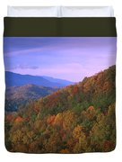 Appalachian Mountains Ablaze  Duvet Cover