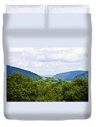 Appalachian Mountains West Virginia Duvet Cover