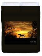 Appaloosa Sunset Duvet Cover