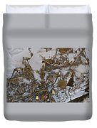 Apparitions On Ice Duvet Cover