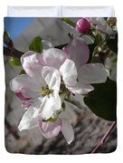 Apple Blossoms 3 Duvet Cover