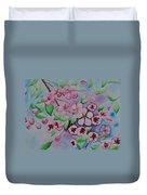 Apple Blossoms Duvet Cover