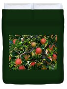 Apple Harvest - Digital Painting Duvet Cover