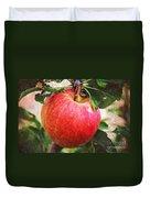 Apple On The Tree Duvet Cover