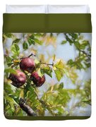 Apple Pickin' Time Duvet Cover