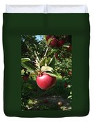 Apple Picking Duvet Cover