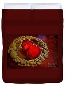 Apple Still Life 2 Duvet Cover