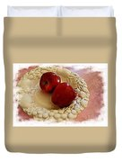 Apple Still Life 3 Duvet Cover