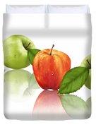 Apple Story Duvet Cover