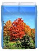 Apple Tree In September Duvet Cover
