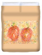 Apple Twins Duvet Cover
