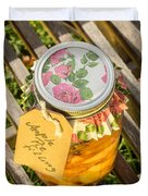Applepie Filling Canned Duvet Cover