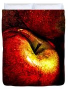 Apples  Duvet Cover by Bob Orsillo