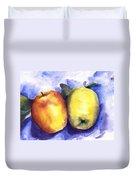 Apples Paired Duvet Cover