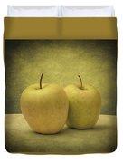Apples Duvet Cover by Taylan Apukovska