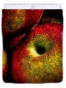 Apples Two Duvet Cover