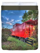 Appomattox Park Caboose Duvet Cover
