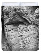 Approach To Tent Rocks Duvet Cover