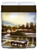 Approaching Dusk IIb Duvet Cover by Kip DeVore