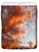 Approaching Glory Duvet Cover