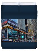 approaching Times Square Duvet Cover