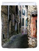 Apricale.italy Duvet Cover