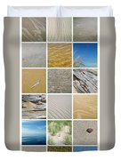 April Beach Duvet Cover by Michelle Calkins