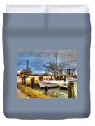 April Dawn Poquoson Virginia Duvet Cover