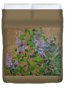 April Lilacs Duvet Cover