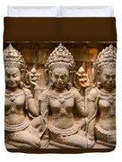 Apsara - Angkor Wat Duvet Cover