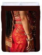 Apsara Dancer 02 Duvet Cover