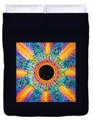 Apus Iris Constellation Duvet Cover
