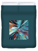 Aqua And Company Duvet Cover